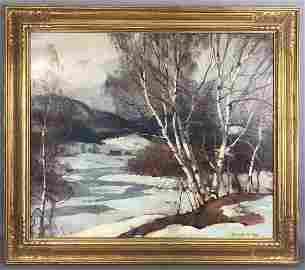 EMILE A. GRUPPE (AMERICAN, 1896 1978) - WINTER LA