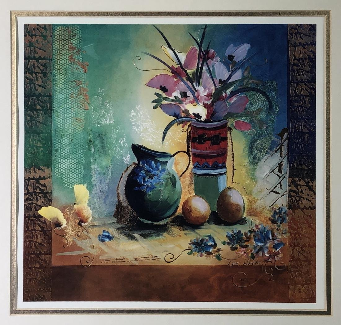 LEE WHITE - 20th Century TWO FLORAL STILL LIFES - - 3