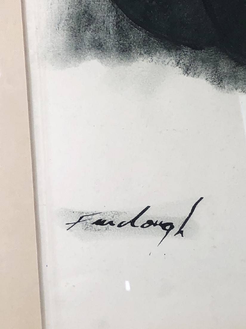 "GERALD FAIRCLOUGH (AMERICAN, B. - 1946) - ""MEDITA - 2"