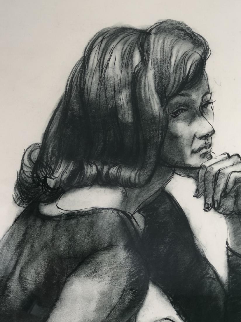 "GERALD FAIRCLOUGH (AMERICAN, B. - 1946) - ""MEDITA - 3"