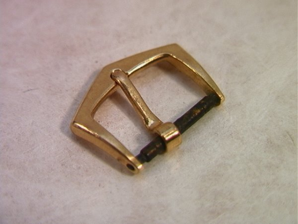 7: 18K Gold Patek Philippe Watch Buckle for Band.  Mark