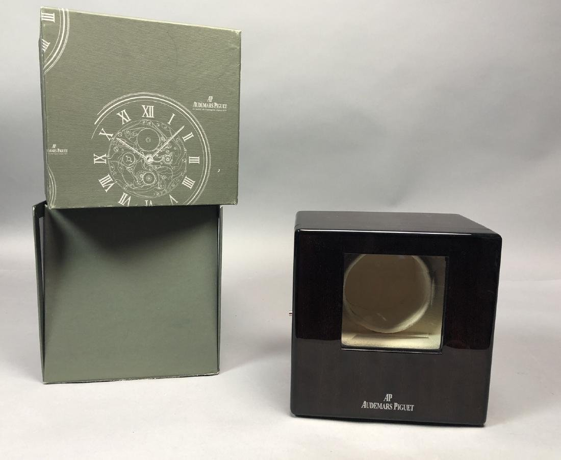 AUDEMARS PIGUET Wood Watch Box and Case. Box and