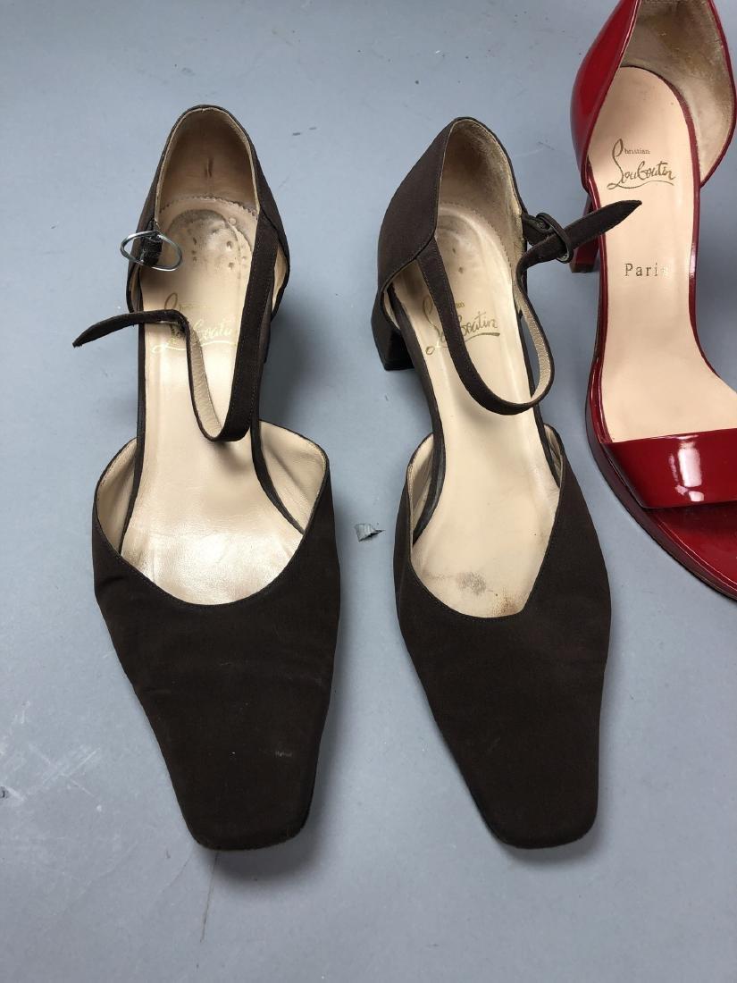 2 pr CHRISTIAN LOUBOUTIN Ladies Shoes. High heel - 2