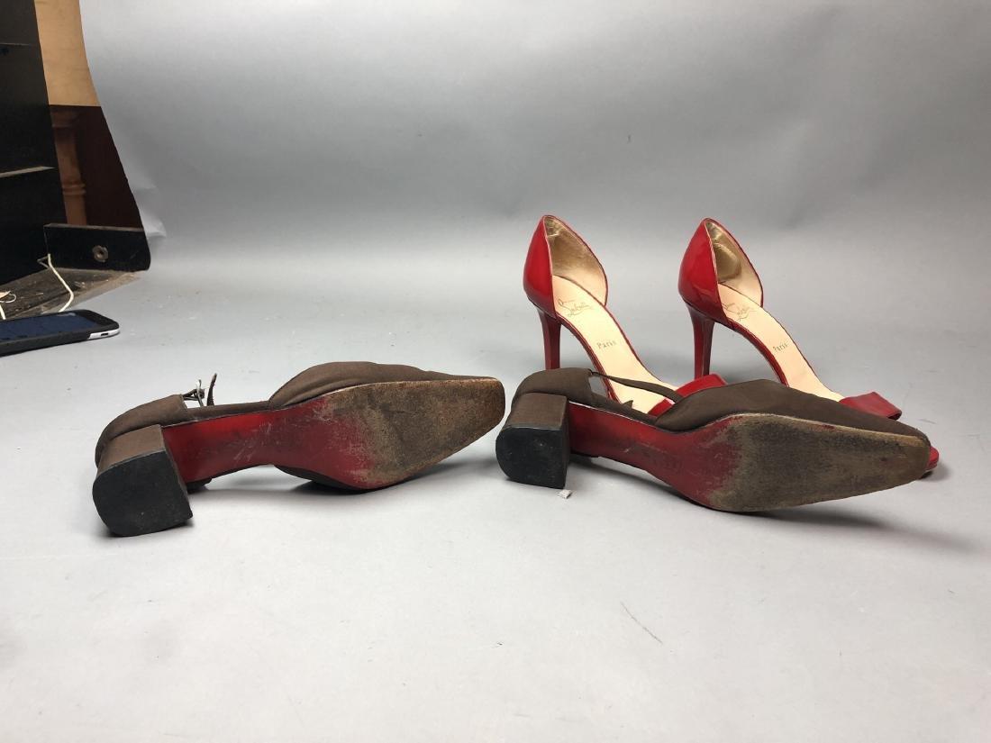 2 pr CHRISTIAN LOUBOUTIN Ladies Shoes. High heel - 5