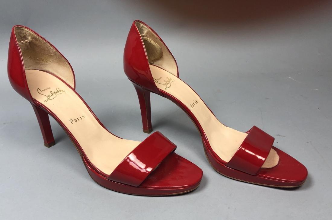 2 pr CHRISTIAN LOUBOUTIN Ladies Shoes. High heel - 6