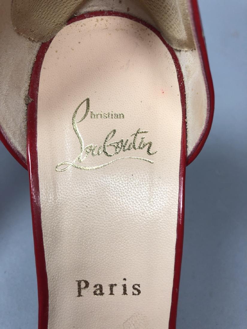 2 pr CHRISTIAN LOUBOUTIN Ladies Shoes. High heel - 8