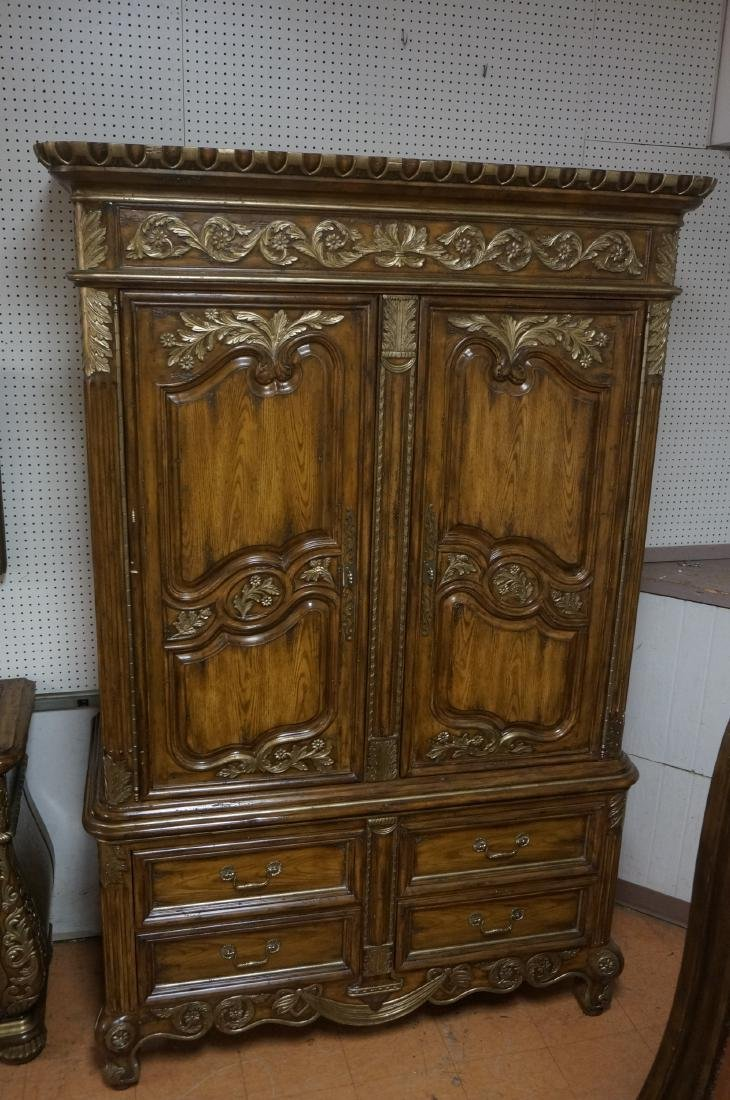 MARGE CARSON Huge Wardrobe Entertainment Cabinet. - 6