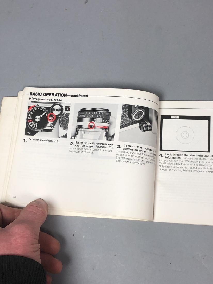 3pc NIKON 35mm Vintage Cameras. Lot includes FA, - 10