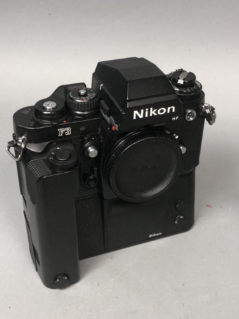 3pc NIKON 35mm Vintage Cameras. Lot includes FA, - 6