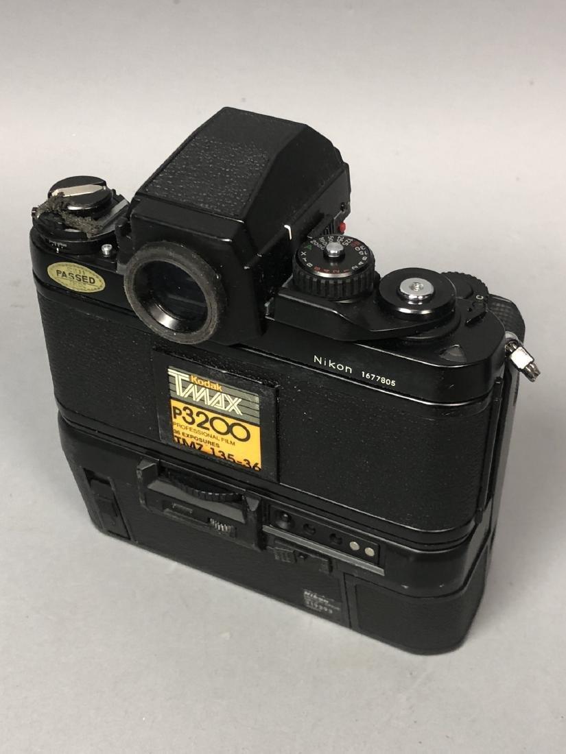 3pc NIKON 35mm Vintage Cameras. Lot includes FA, - 7