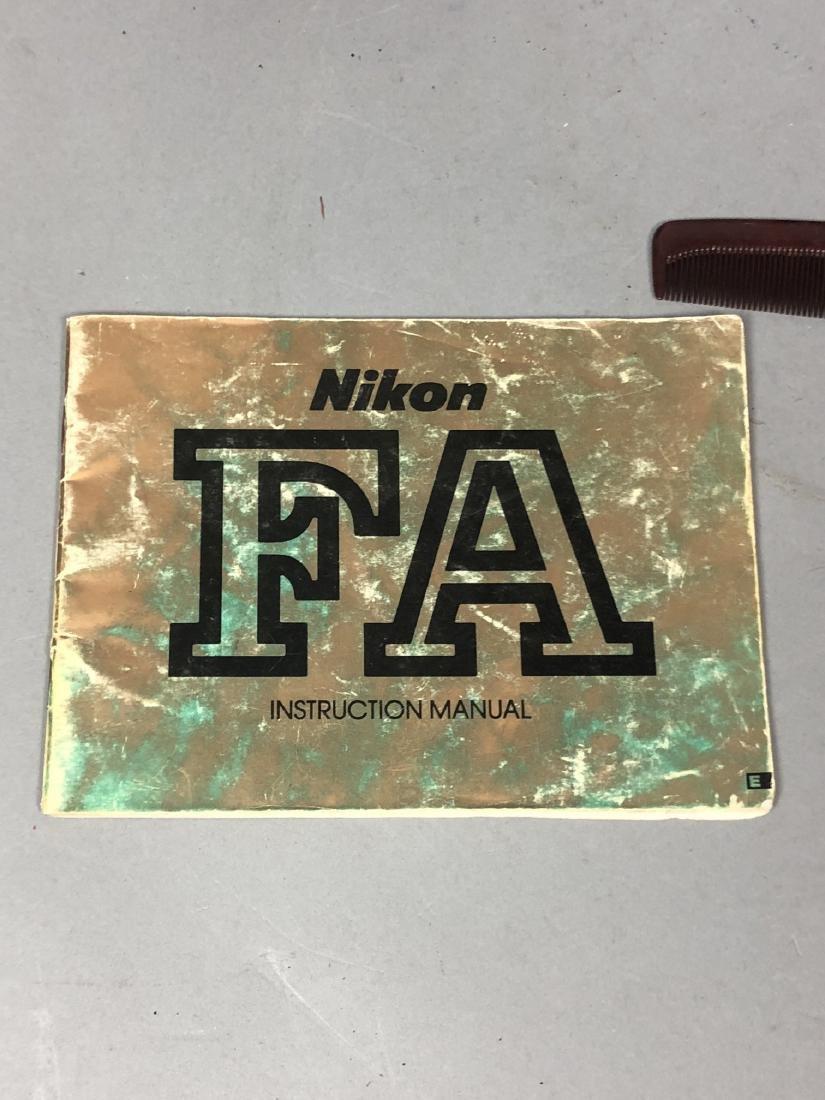 3pc NIKON 35mm Vintage Cameras. Lot includes FA, - 8