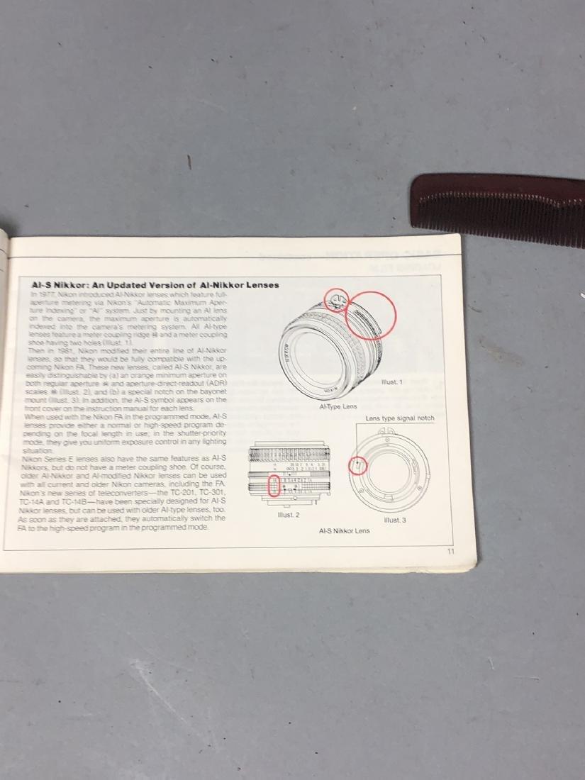 3pc NIKON 35mm Vintage Cameras. Lot includes FA, - 9