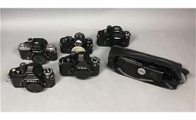 6pc NIKON Vintage Camera Light Meter Lot 5 vint