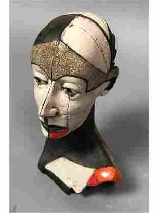Small ZBIGNIEW CHOJNACKI Artisan Ceramic Sculptur