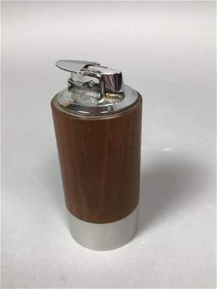 PAUL EVANS & PHILIP POWELL Modernist Lighter. Cyl