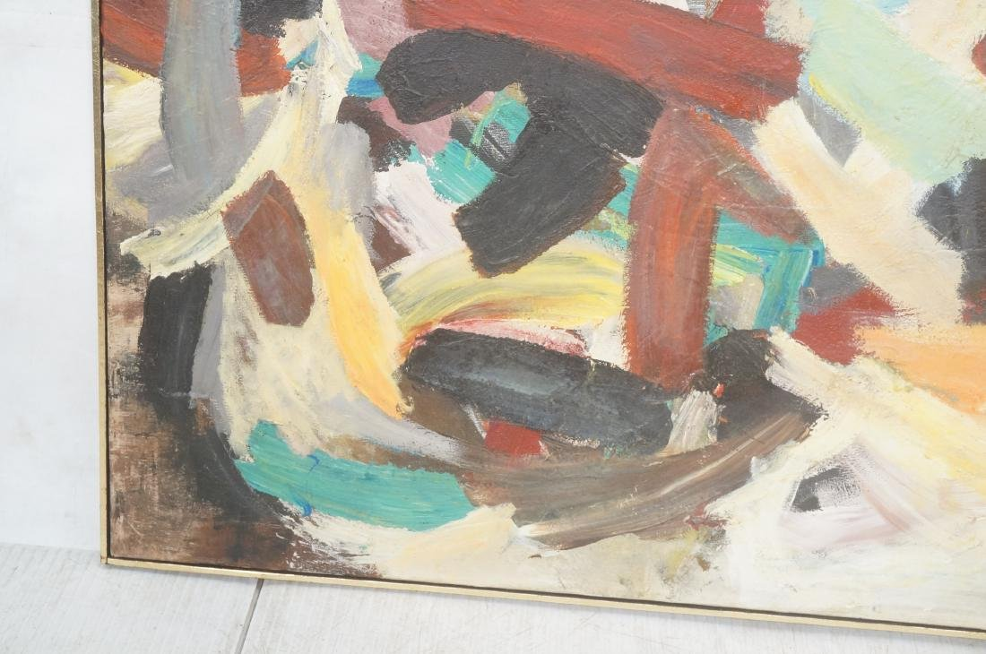 SEYMOUR FRANKS (1916 -1981) Modernist Painting. A - 5