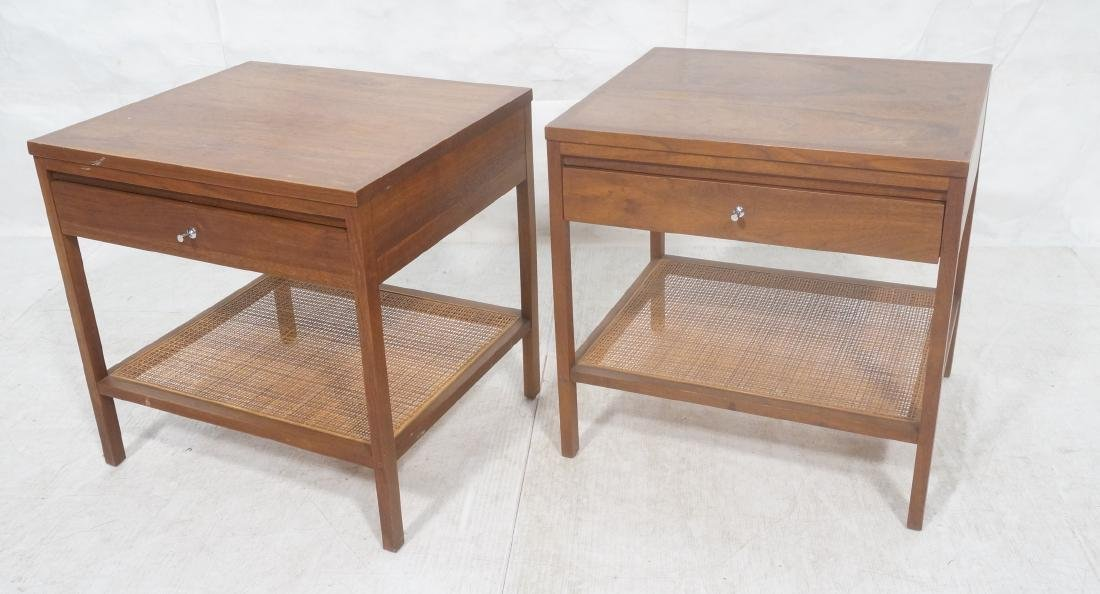 Pr PAUL MCCOBB for LANE Modernist Side End Tables