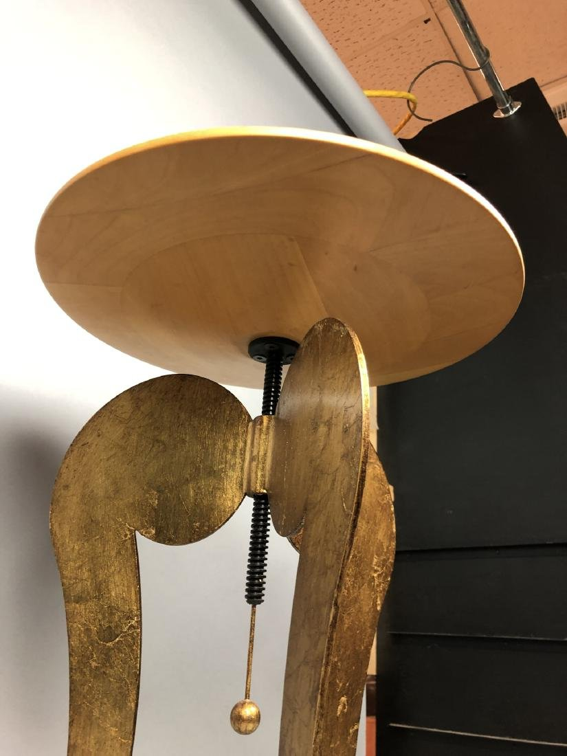 Satinwood Small Gilt Metal Decorator Side Table. - 6