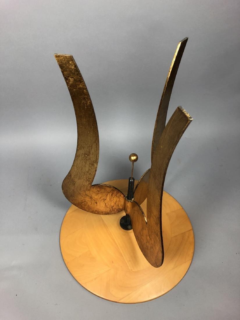 Satinwood Small Gilt Metal Decorator Side Table. - 7