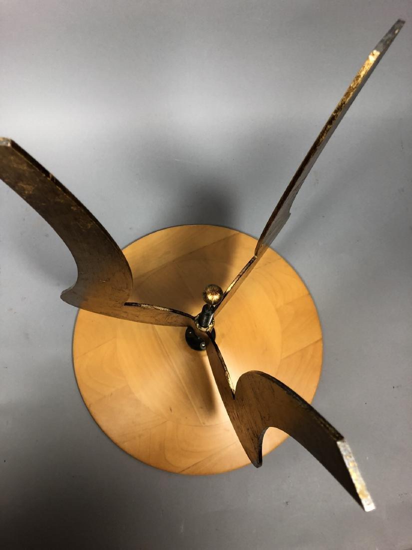 Satinwood Small Gilt Metal Decorator Side Table. - 8
