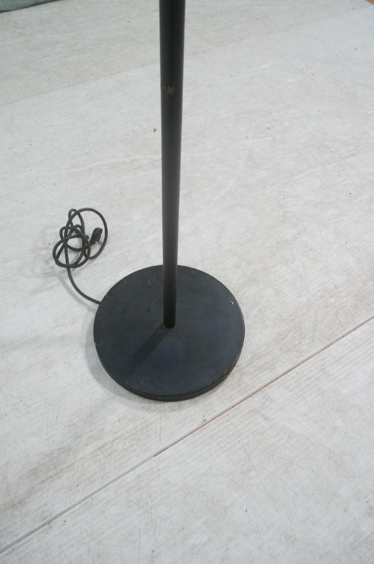SONNEMAN Modernist 3 Chrome Arm Floor Lamp. Black - 4