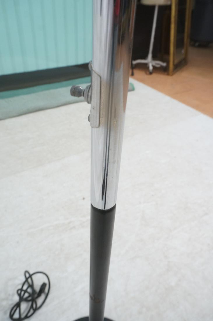 SONNEMAN Modernist 3 Chrome Arm Floor Lamp. Black - 5
