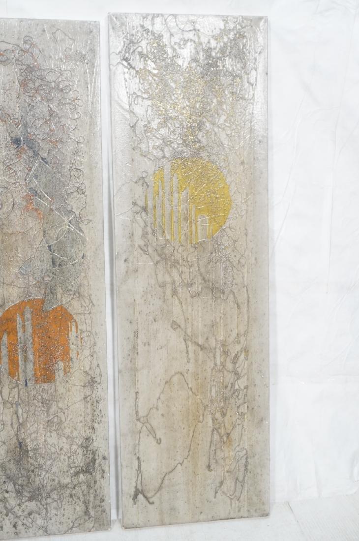 3 ANTONIO PURI - DHARMA 7-8-9 Modernist Paintings - 4