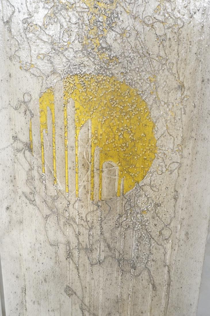 3 ANTONIO PURI - DHARMA 7-8-9 Modernist Paintings - 8
