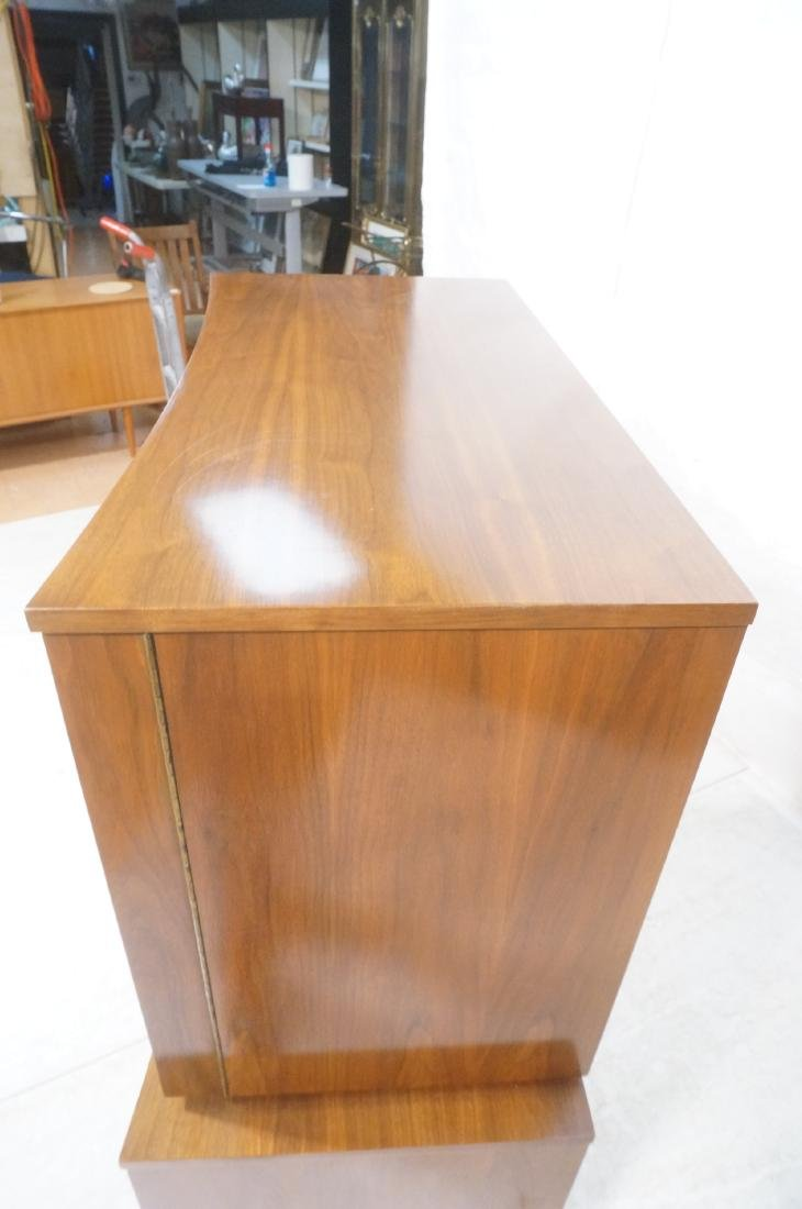 YOUNG American Modern Walnut Tall Chest Dresser. - 6