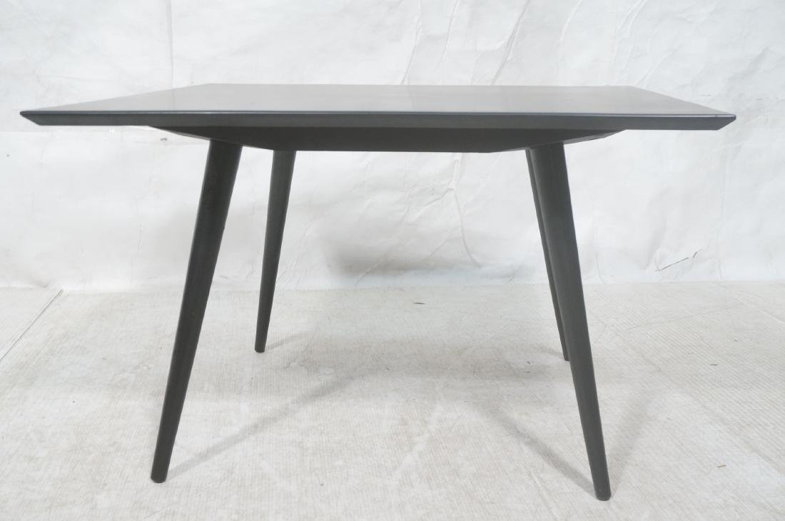 PAUL McCOBB Ebonized Square Cocktail Coffee Table - 2