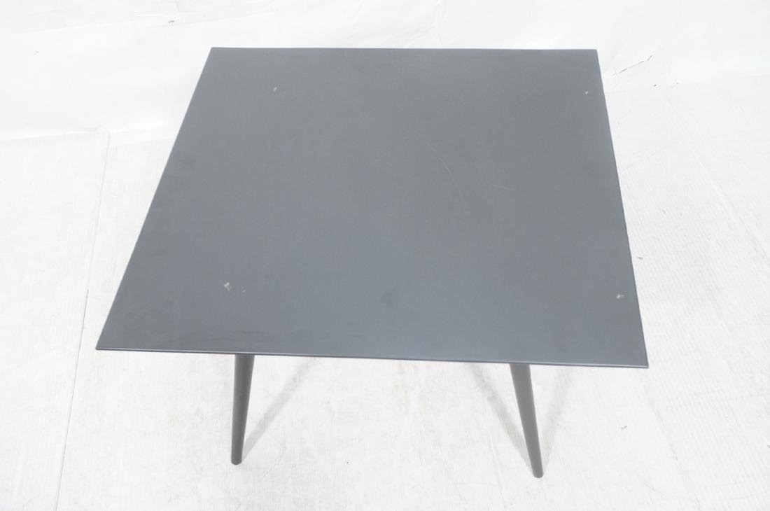 PAUL McCOBB Ebonized Square Cocktail Coffee Table - 3