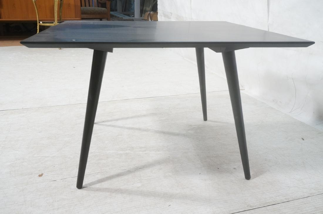PAUL McCOBB Ebonized Square Cocktail Coffee Table - 4