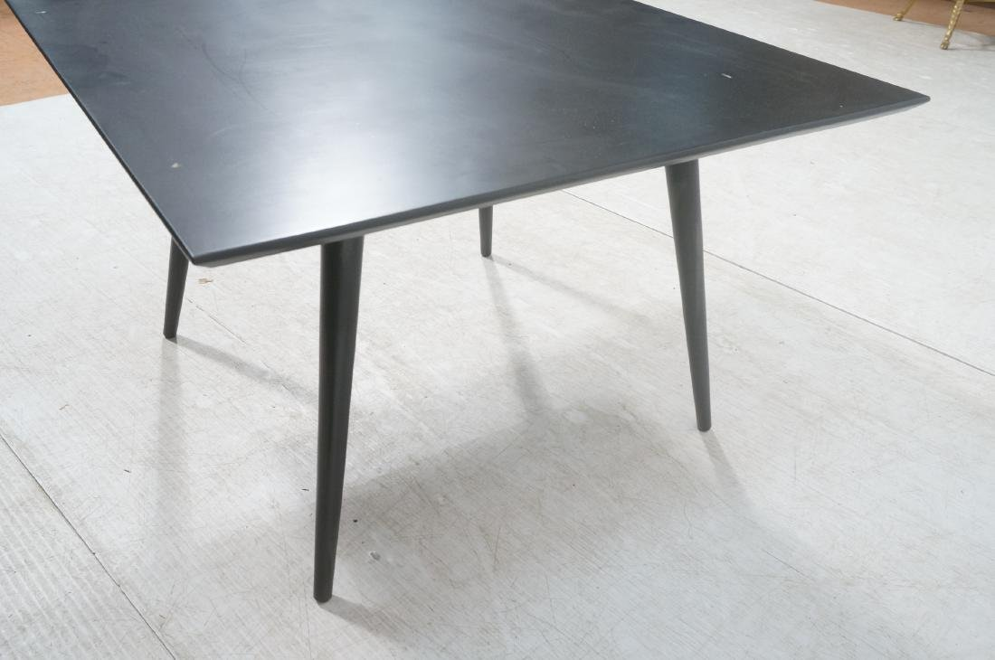 PAUL McCOBB Ebonized Square Cocktail Coffee Table - 5