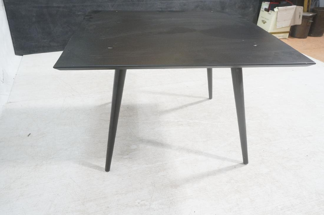 PAUL McCOBB Ebonized Square Cocktail Coffee Table - 6