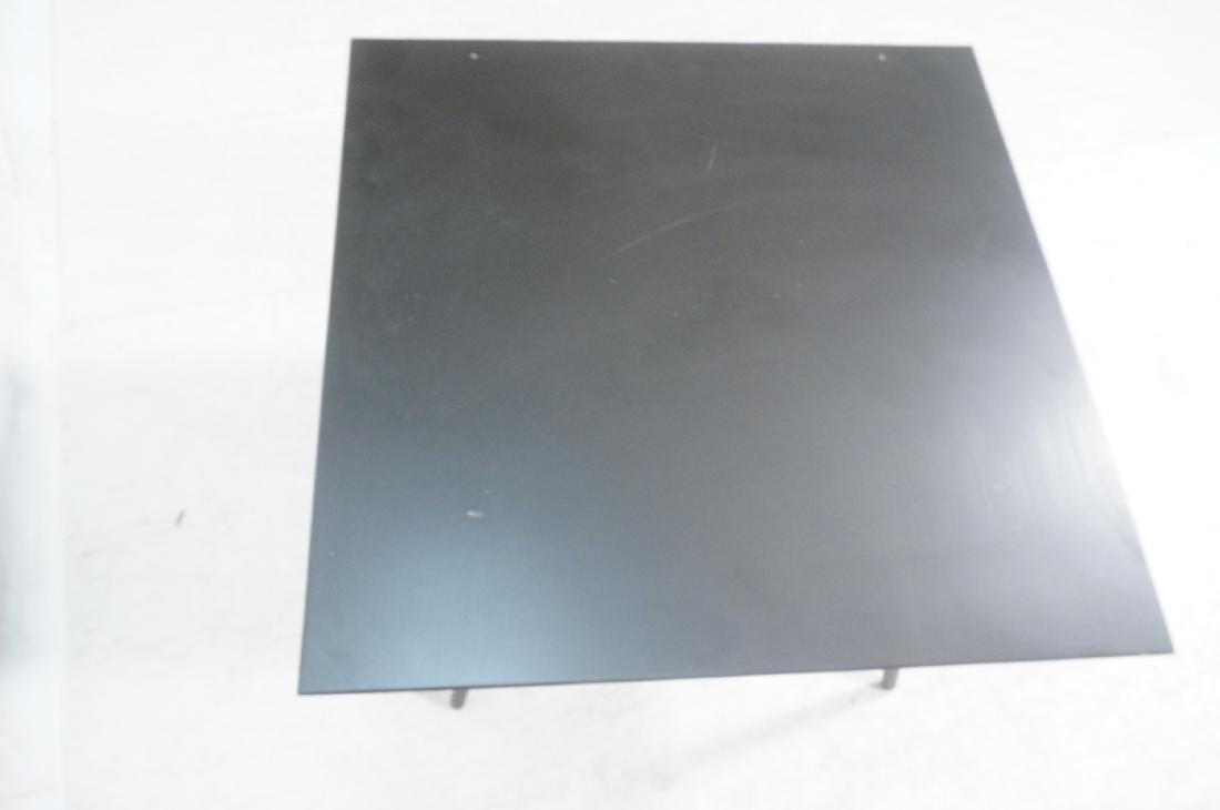 PAUL McCOBB Ebonized Square Cocktail Coffee Table - 7