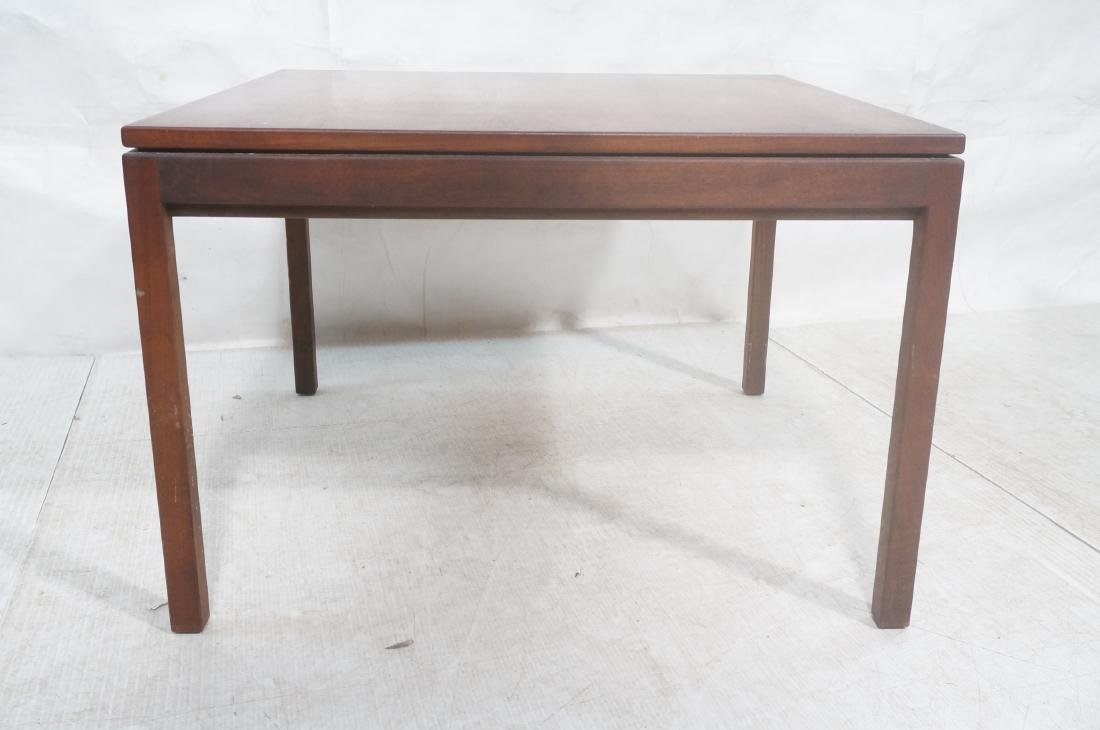American Modern Walnut Square Cocktail Table. Mod - 2