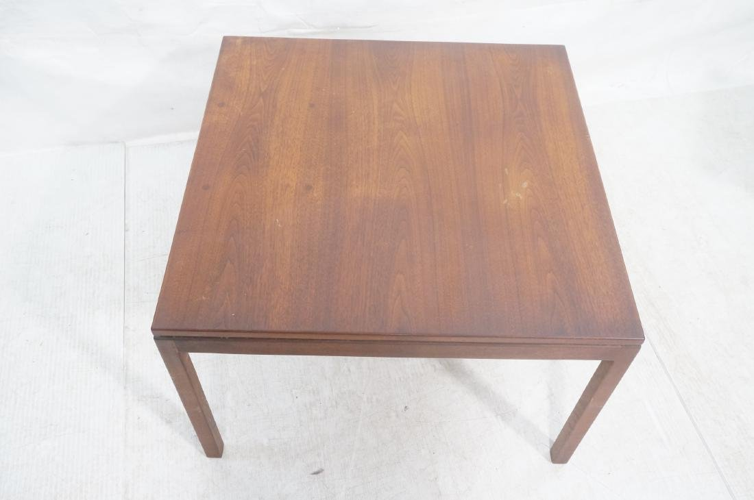 American Modern Walnut Square Cocktail Table. Mod - 3