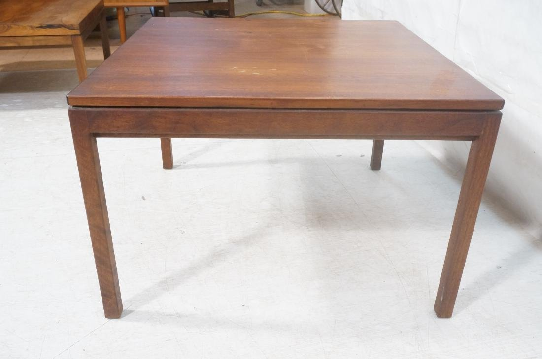 American Modern Walnut Square Cocktail Table. Mod - 4