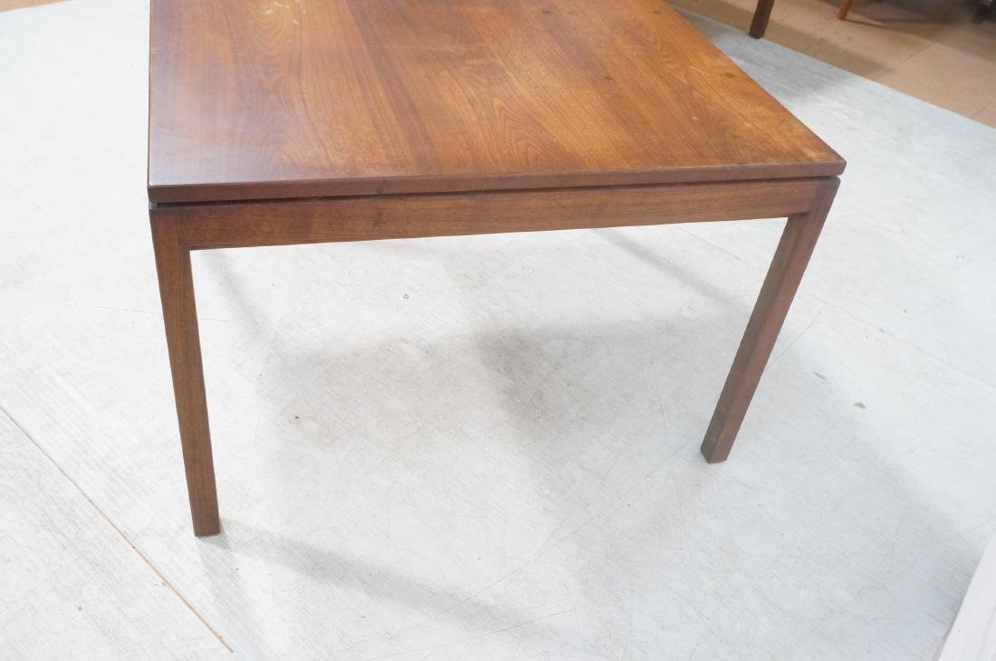 American Modern Walnut Square Cocktail Table. Mod - 7