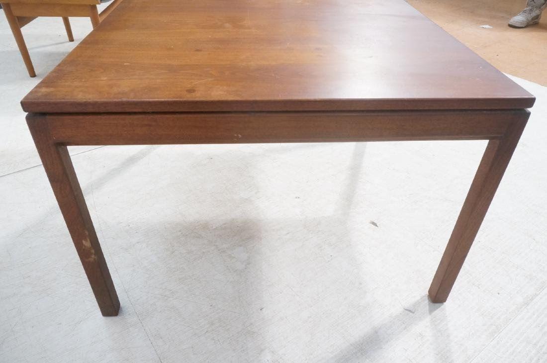 American Modern Walnut Square Cocktail Table. Mod - 8