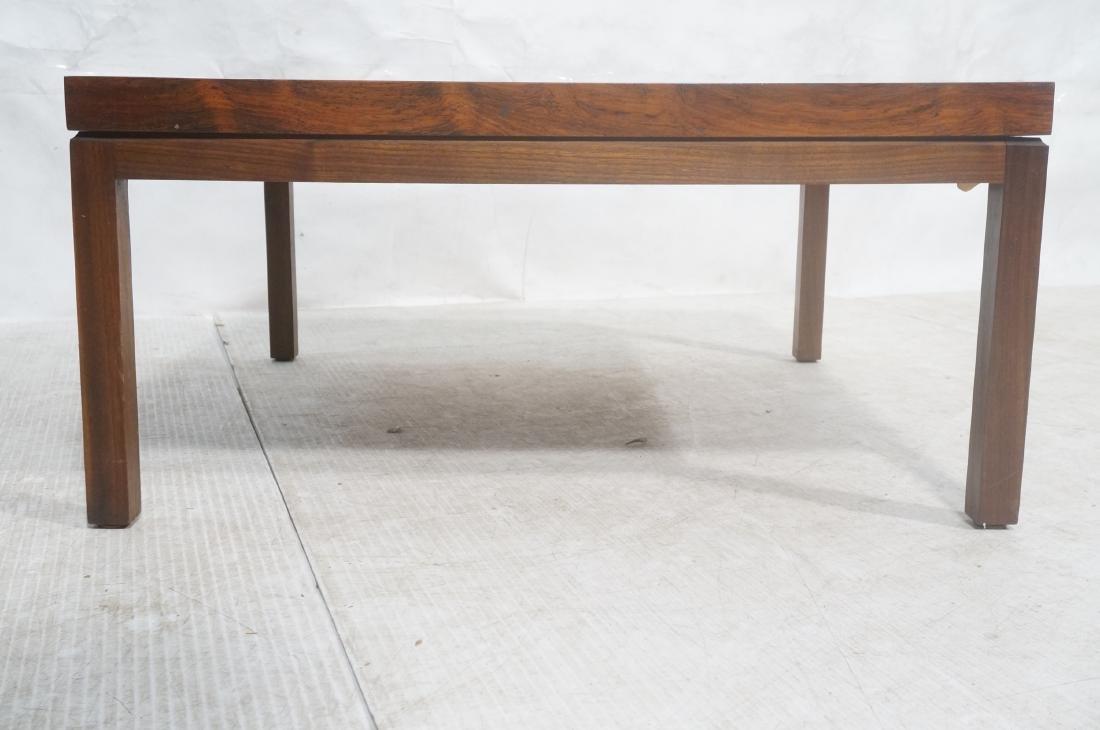 MILO BAUGHMAN Rosewood Modern Square Coffee Table - 2