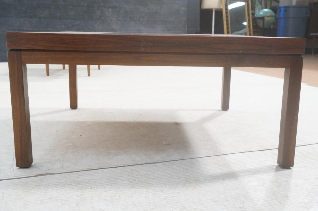 MILO BAUGHMAN Rosewood Modern Square Coffee Table - 4