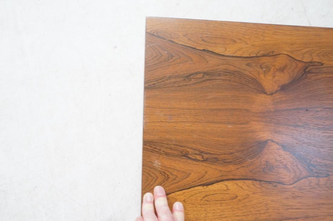 MILO BAUGHMAN Rosewood Modern Square Coffee Table - 7