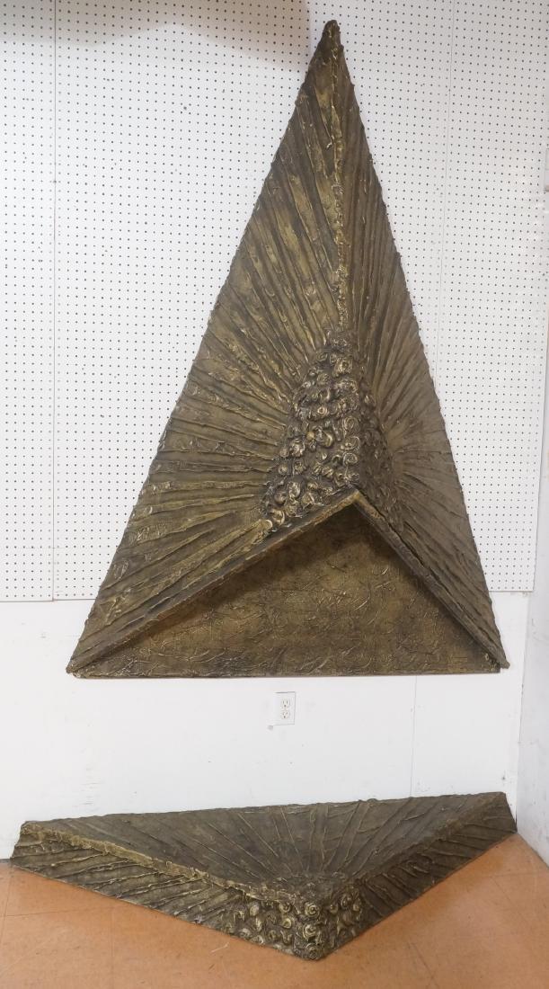 ADRIAN PEARSALL Sculptured Goop Fireplace Hood. P