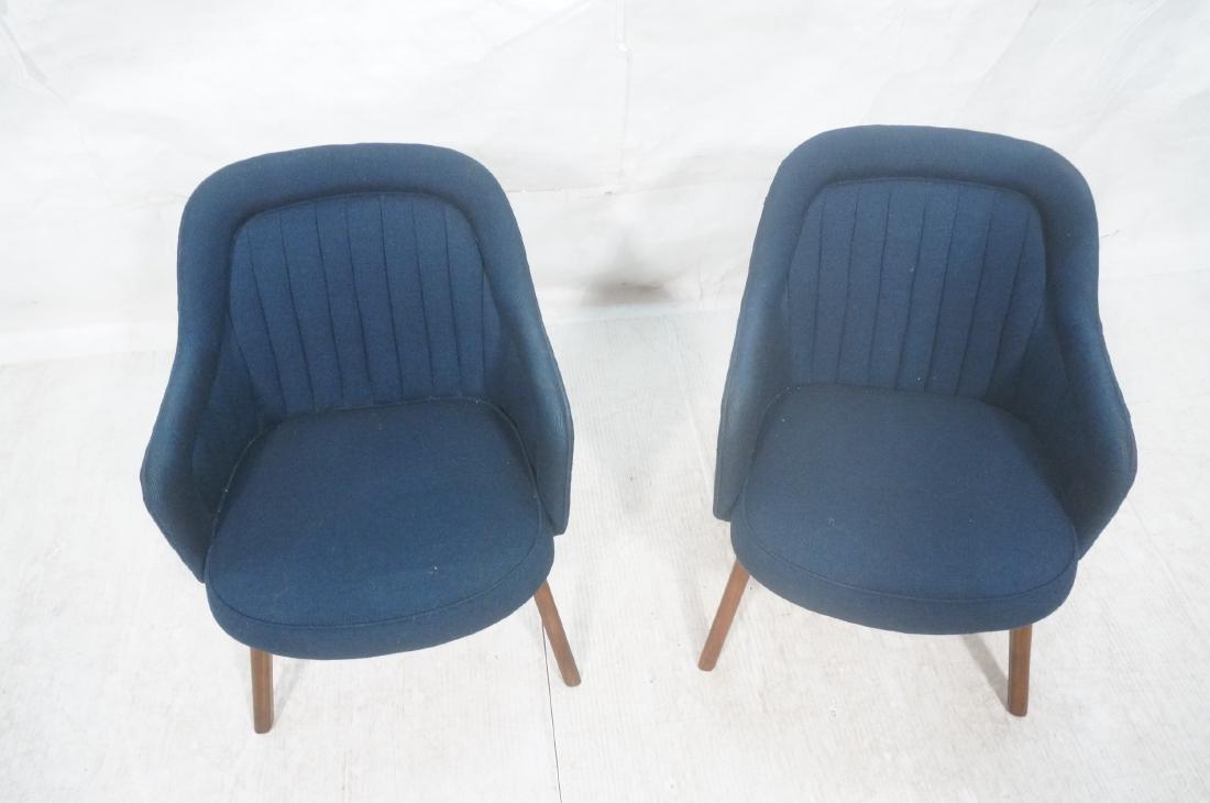Pr Walnut American Modern Lounge Chairs. Pearsall - 3