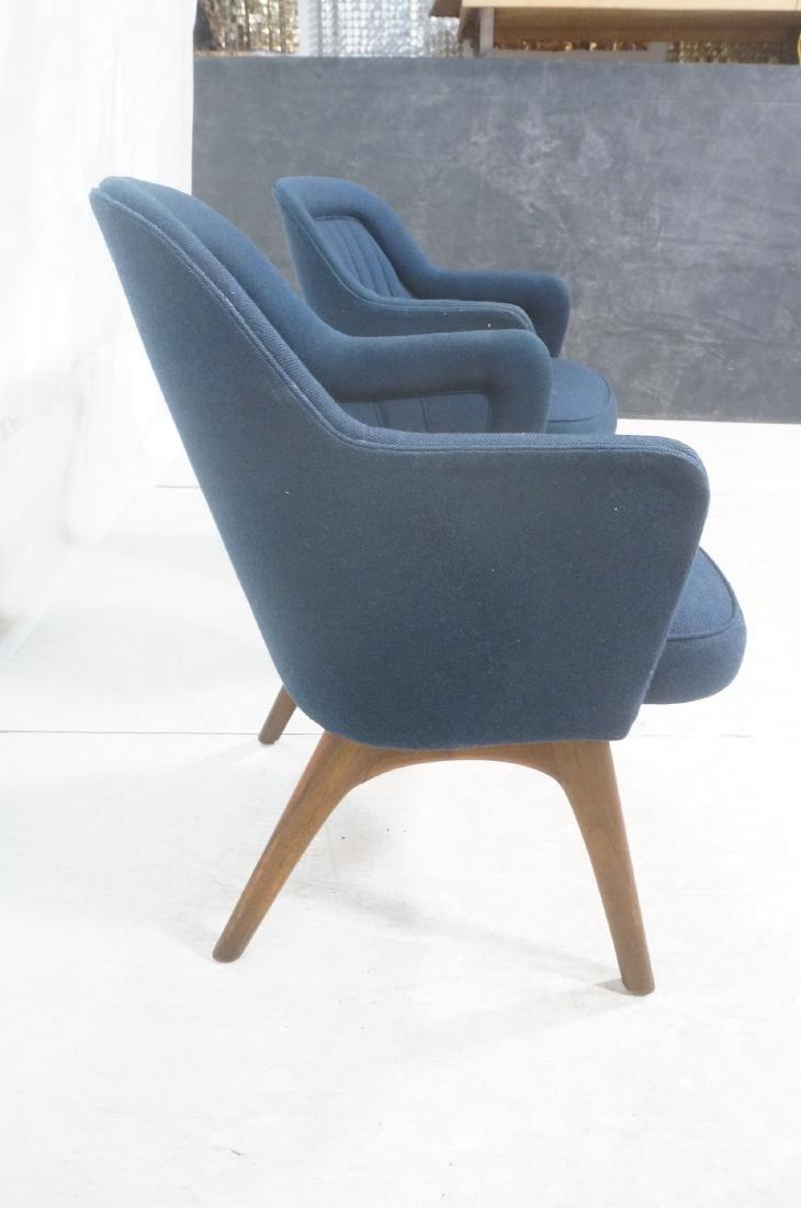 Pr Walnut American Modern Lounge Chairs. Pearsall - 4