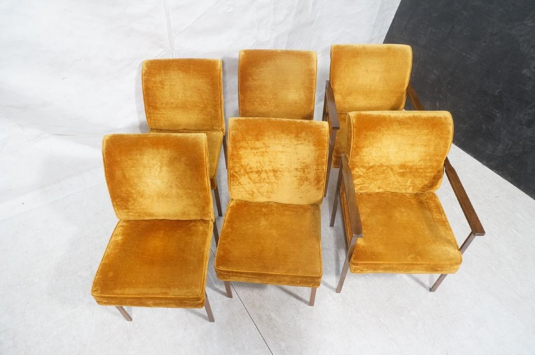 6 LANE Copper Color Frame Dining Chairs. 4 side c - 4