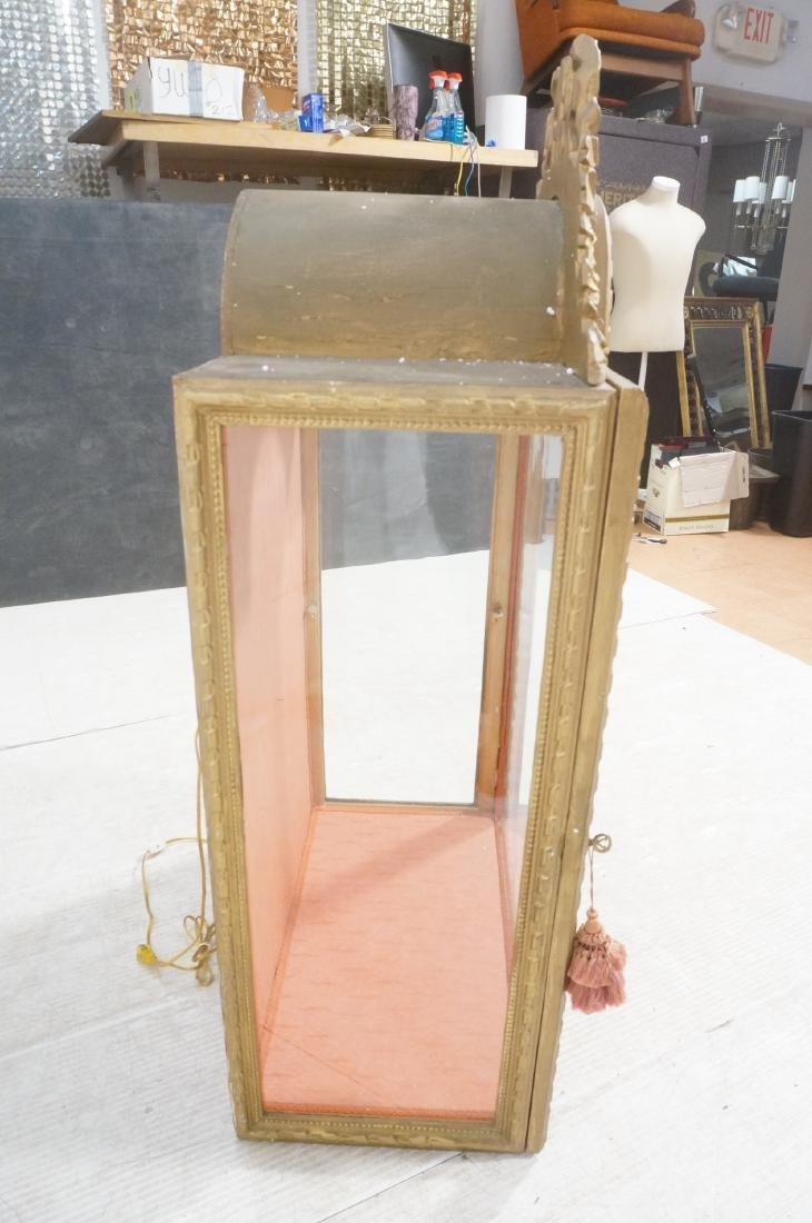 Decorative Molding Curio Display Cabinet. Arched - 3
