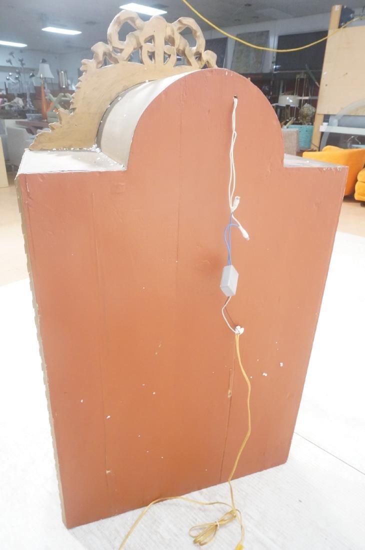 Decorative Molding Curio Display Cabinet. Arched - 4