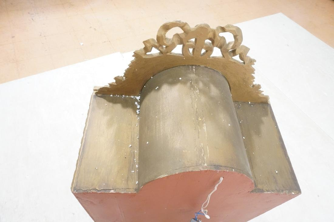 Decorative Molding Curio Display Cabinet. Arched - 5